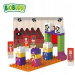 BiOBUDDi - Fashion Catwalk - Eco Friendly Block Set - 37 Blocks